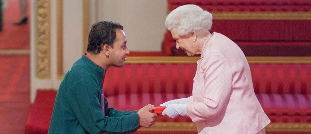 NSU Electrical and Computer Engineering Alumnus Shamir Shihab receives Young Leadership Award from Her Majesty The Queen