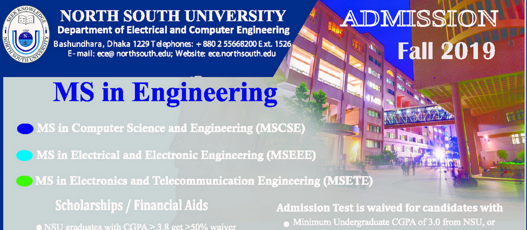 MS in Engineering Admission