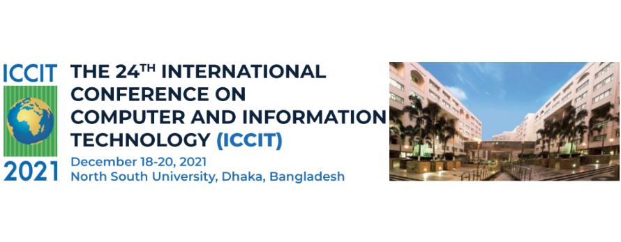 ICCIT 2021 @ NSU
